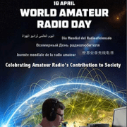 World Amateur Radio Day @ (online + on-air)
